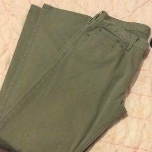 Men's Old Navy twill five pocket jeans